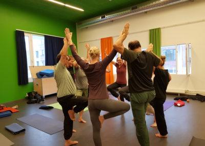 yoga holdet